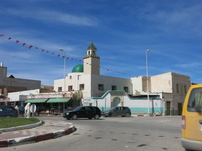 Downtown Teboulba, Tunisia