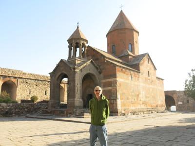 Khor Virap, Armenia to Turkey border monastery