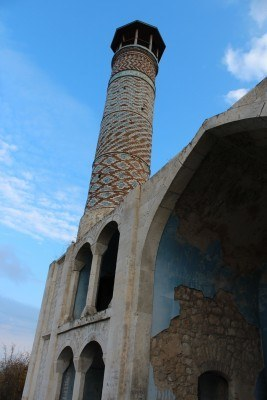 Agdam Mosque. Photo from Tacita Vero.