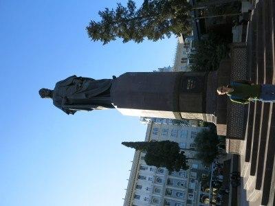 Nizami Ganjavi Statue