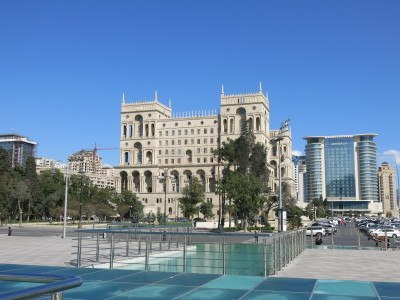 Azadliq (Freedom) Square, Baku, Azerbaijan.