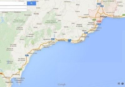 Malaga to Gibraltar overland route