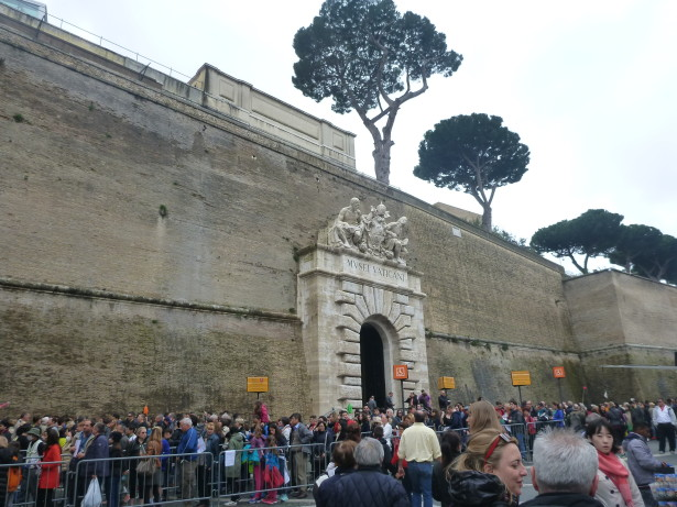 World Borders: How to Get From Italy to the Vatican City State