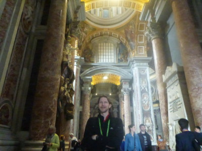 Backpacking in the Vatican City State - St. Peter's Basilica
