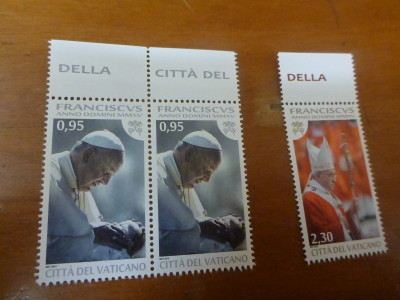 Stamps from the Vatican City State