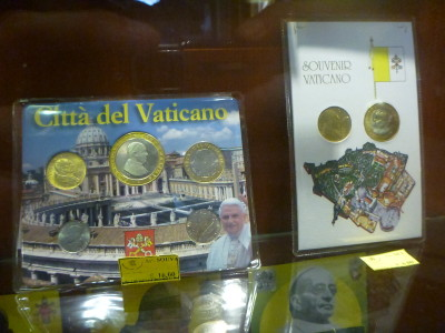 Vatican City State Euro coins