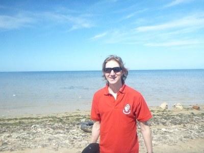 Down by the beach in Teboulba