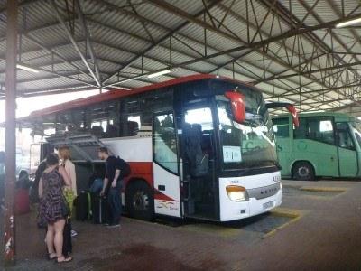 Arrival in La Linea de La Concepcion
