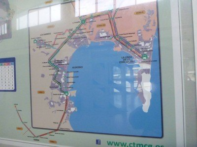 World Borders: How to Get from Spain to Gibraltar (Bus From Malaga to La Linea)