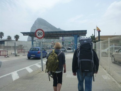 Backpacking to Gibraltar from Spain