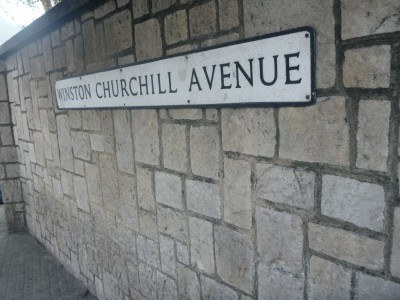 Winston Churchill Avenue in Gibraltar