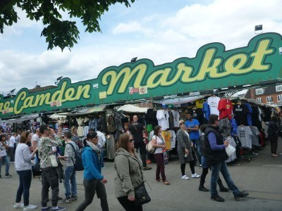 Camden Market by day