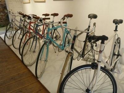JJ's posh bike shop at Old Street