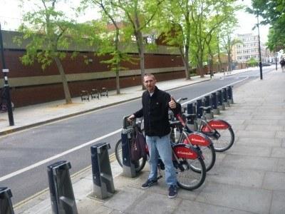 Hiring a bike in Old Street, London
