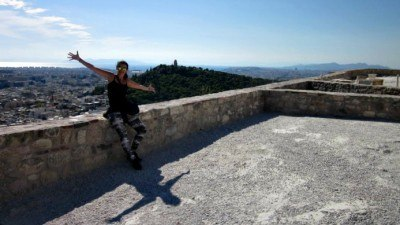 World Travellers: Sofie Couwenbergh From Wonderful Wanderings at the Acropolis, Athens