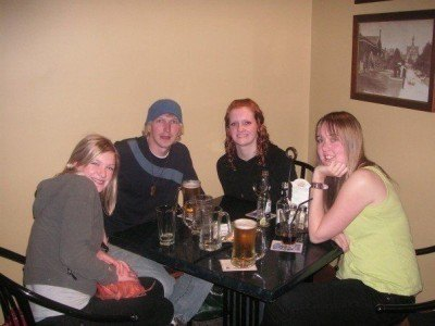Nights out in Rotorua back in 2007