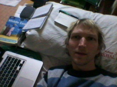 Blogging from a bed in Iraq