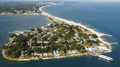 Sandbanks from above