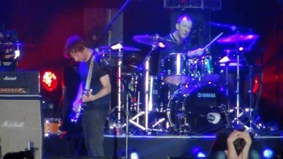 Alex James and Dave Rowntree - Blur in Hong Kong