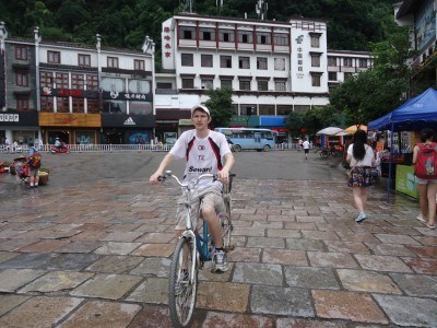 Cycling in Yangshuo, China