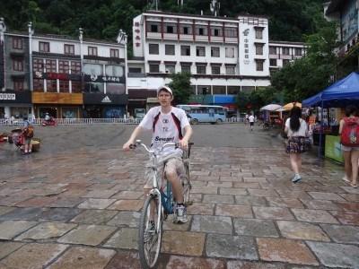 Cycling in Yangshuo, China