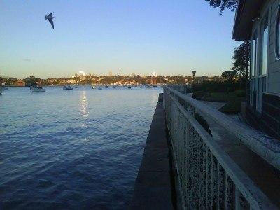Sunset in Drummoyne, Sydney