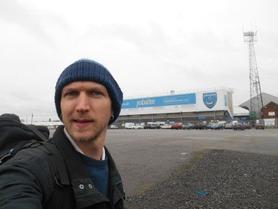 Backpacking in Portsmouth - Fratton Park