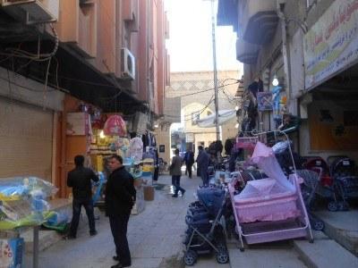 The bazaar in Erbil, Kurdistan, Iraq
