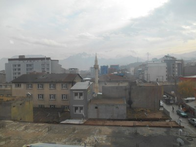 View from the top floor of Hotel Tehran, Doggy