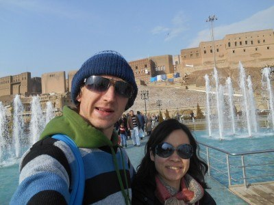 Touring Erbil in Iraq
