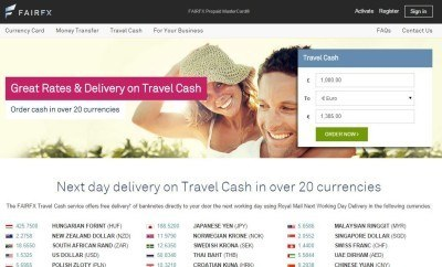 Tuesday's Travel Essentials: FairFX Travel Cash