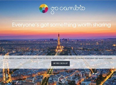 GoCambio: Exciting New Free Travel and Skill Exchange Program