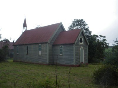 Main church in Bangor, Tasmania