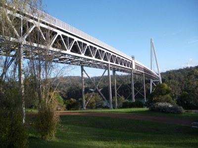 Batman Bridge in Tasmania