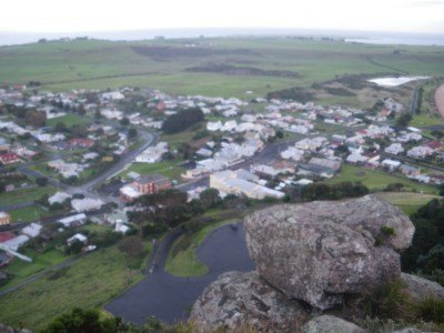 View from the top of the Nut, Stanley