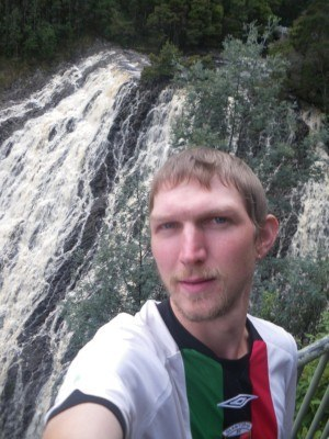 Selfie at Dip Falls