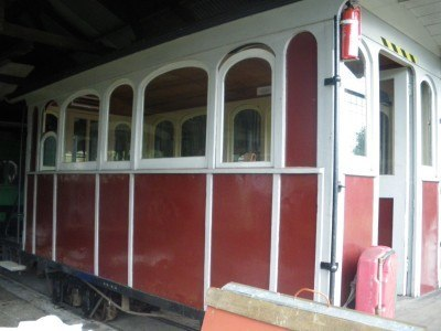 Wee Georgie Wood railway in Tullah
