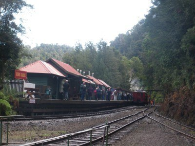 The remote train station at Dubbil Barril