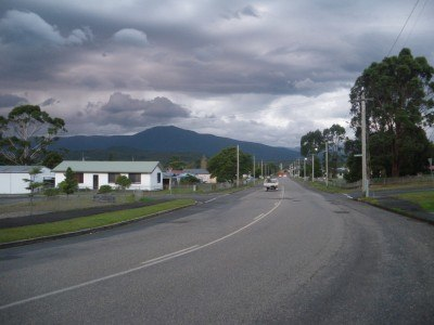 Downtown Zeehan
