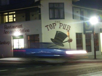 The local in Rosebery in rush hour - the Top Pub
