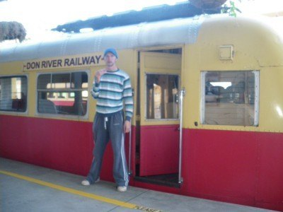 Don River Railway - the only passenger