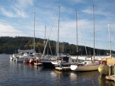 Kettering Harbour in Tasmania