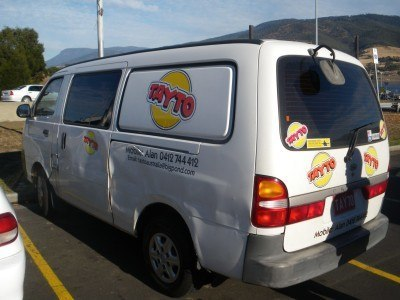 Seriously, a Tayto Van at Glenorchy.