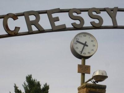 War Memorial Entrance at Cressy, Tasmania