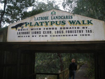 Platypus Walk in Latrobe