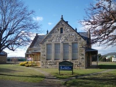 A church in Bothwell, Tasmania