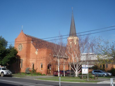 A church in Leongatha, Australia