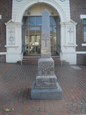 War Memorial in Leongatha