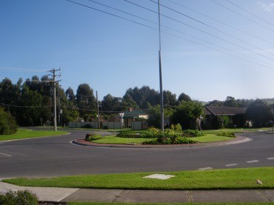 A residential area in Foster
