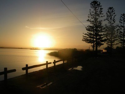 Sunset at Marlo, Victoria, Australia. Somewhat glorious.
